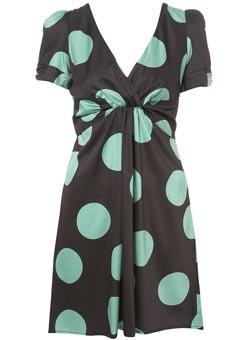 Topshop Spotty Tea Dress